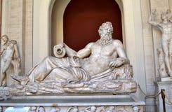 Vatikanstadt-Museum Stockfotografie