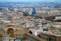 Vatikanstadt Rom Italien Stockfotos