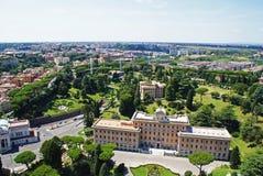 Vatikanstaten tillstånd Arkivbild