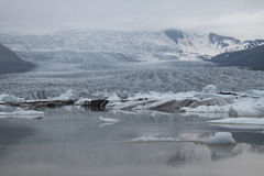 Vatnajökull冰川 库存照片