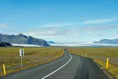 Vatnajökull Island Royaltyfria Bilder