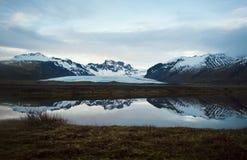 Vatnajökull wielki lodowiec w Europa Zdjęcia Stock