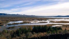 Vatnajökull Nationaal Park Royalty-vrije Stock Fotografie