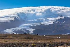 Vatnajokull glaciärnationalpark, Island Royaltyfri Foto