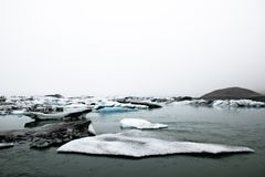 Vatnajokull glacier Stock Photos