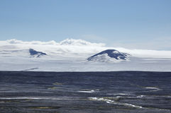 Vatnajokull glacier, Iceland Royalty Free Stock Images