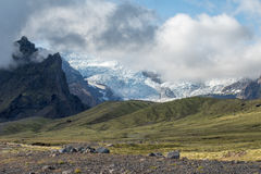 Vatnajokull glacier, Iceland Stock Photography