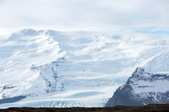 Vatnajokull Glacier Iceland Royalty Free Stock Photo