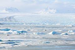 Vatnajokull Glacier Iceland Royalty Free Stock Image