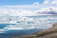 Vatnajokull Glacier Iceland Royalty Free Stock Photography