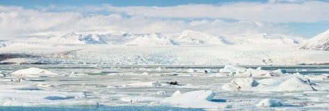 Vatnajokull Glacier Iceland Royalty Free Stock Photos