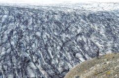 Vatnajokull glacier landscape view, Iceland Royalty Free Stock Image