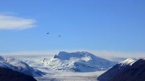 Vatnajokull glacier mountain in east Iceland Stock Image