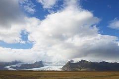 Vatnajokull glacier Stock Images
