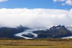 Vatnajokull glacier Royalty Free Stock Images