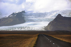 Vatnajokull glacier Stock Photography