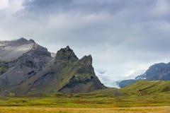 Vatnajokull glacier Stock Image