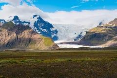 Vatnajokull Glacier or Vatna Glacier Stock Images