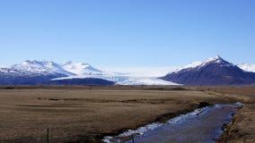 Vatnajokull glacier Stock Photos