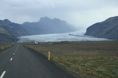 Vatnajokull-Gletscher in Island Lizenzfreies Stockfoto