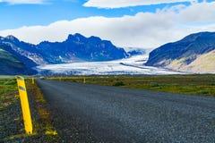 Vatnajokull, the largest glacier in Iceland Royalty Free Stock Photos