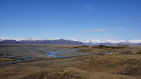 Vatnajokull mountain range Royalty Free Stock Photos