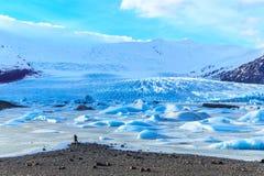 Vatnajokull nationalpark, Island Royaltyfri Foto