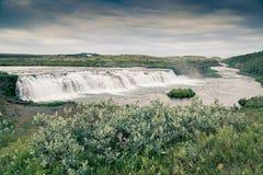 Vatnsleysufoss et x28 ; Faxi& x29 ; cascade Image stock