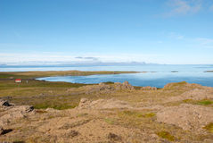 Vatnsnes peninsula in Iceland Stock Images