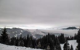 Vatra Dornei, отключение горы Стоковые Фото