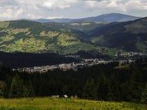 Vatra Dornei, viaggio della montagna Fotografia Stock