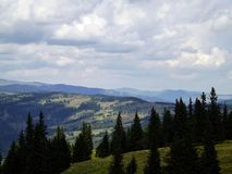 Vatra Dornei, voyage de montagne Images libres de droits