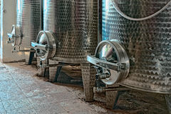 Vats for wine Royalty Free Stock Image