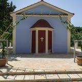Vatsa zatoki kościół, Kefalonia Grecja obrazy stock