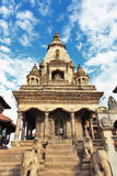 Vatsala Durga hindu temple at Bhaktapur, Nepal Royalty Free Stock Image