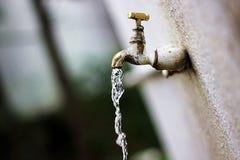 Vatten är liv Royaltyfria Bilder
