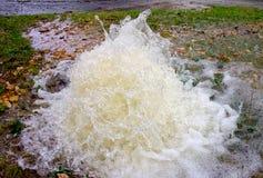 Vatten är mer dyrbar än dig funderaren Arkivfoto