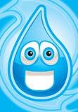 vatten royaltyfri illustrationer
