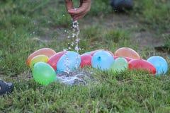vatten bombarderar Royaltyfri Fotografi