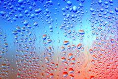 vatten för 11 droppar Royaltyfri Bild