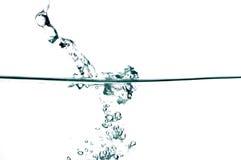 vatten för 18 droppar Royaltyfri Bild