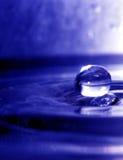 vatten för 2 droppe Royaltyfri Fotografi