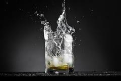 vatten för 2 explosion Arkivbild
