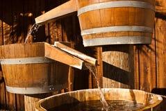 vatten för 2 trummashutes Royaltyfria Foton