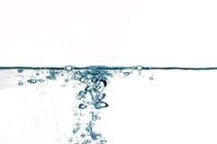 vatten för 23 droppar Royaltyfri Bild