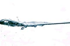 vatten för 42 droppar Arkivfoto