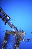 vatten för 6 stråle Arkivbild