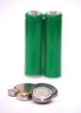 vatten för färgstänk för lampa för kulabegreppsenergi Royaltyfri Bild