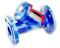 vatten för filterflänsuppvärmning Arkivbild