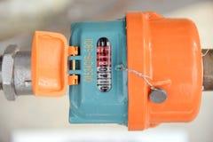 vatten för flödesmätningsräkneverk Royaltyfria Foton